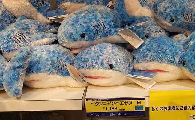 美ら海水族館ジンベイザメぬいぐるみ