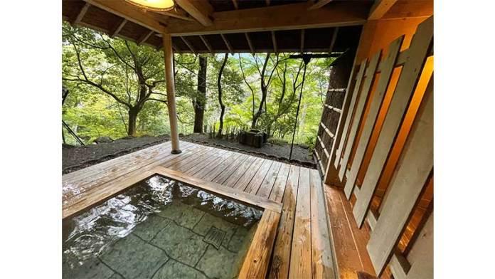 武蔵野別館 箱根 貸切露天風呂