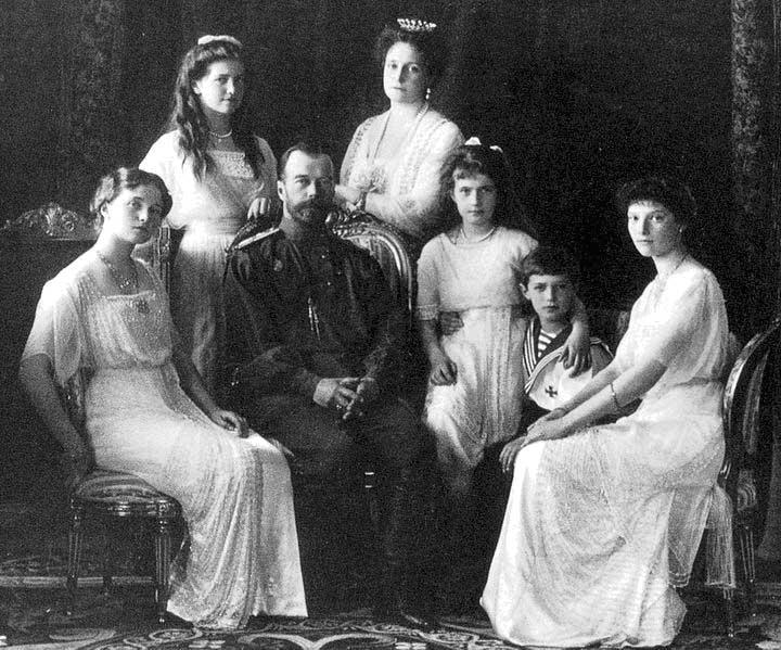 Russian Tsar and His Family