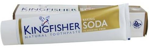 kingfisher toothpaste baking soda