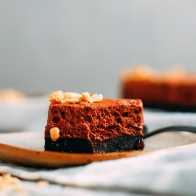 vegan brownie
