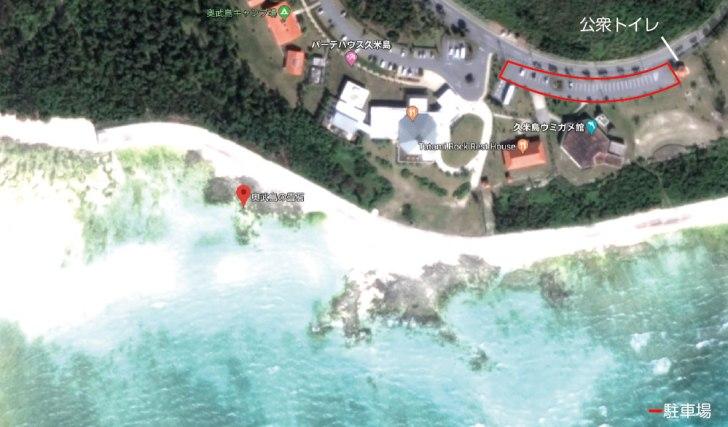 畳石のビーチ