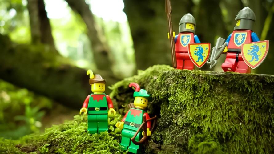 レゴお城シリーズの森の人