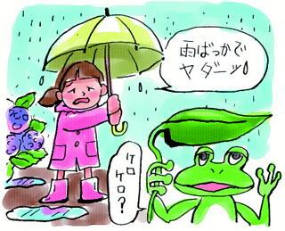 梅雨前線のメカニズム