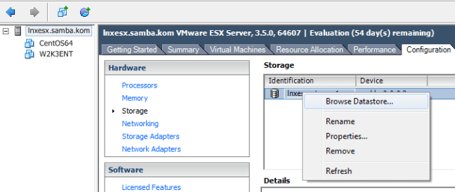 How to Export/Import Virtual Machine On ESX Server | Tips