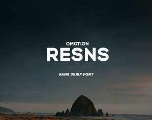 omotion Resns – Free Font