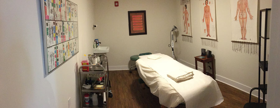 Private treatment room at OMoWC