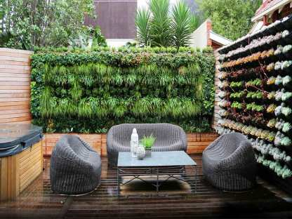 Diy Hanging Wall Garden The Om Project
