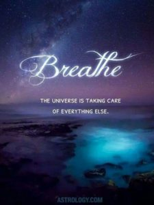 breath and universe