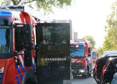 Flinke rookontwikkeling bij een kelder brand in Almere Stad