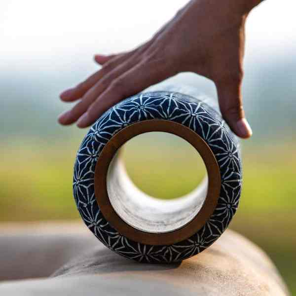 Om Roller 5-inch with Asanoha cover