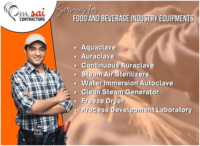 (Our services for Food & Beverage Industry)