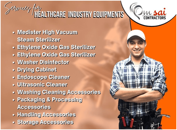(Our services for Healthcare Industry)