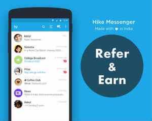 Hike App Refer Earn Offer