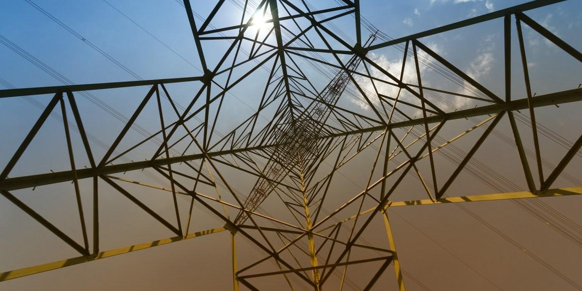 eficiência energética na indústria: torre de energia