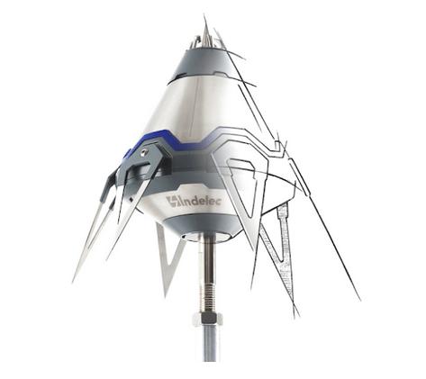 Laudo SPDA: imagem de para-raios ionizante Prevectron