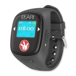 Детские часы с GPS трекером Elari FixiTime 2 Black