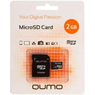 Карта памяти Qumo Micro-SD 2Gb