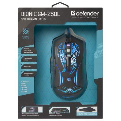 мышь Defender Bionic GM-250L