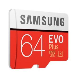 карта памяти Micro-SD Samsung Evo Plus 64Gb