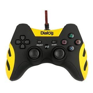 Геймпад Dialog GP-A21 желтый