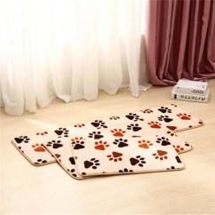 Kitchen Mat Sets Small Table For 珊瑚绒地毯地垫单条装三件套多种规格选项吸水防滑保暖垫厨房垫 一品购商城 厨房垫套