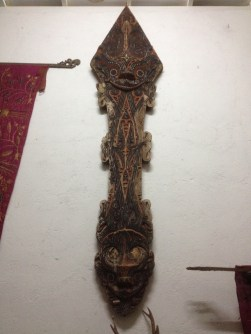 A beautiful temple carving from Sulawesi