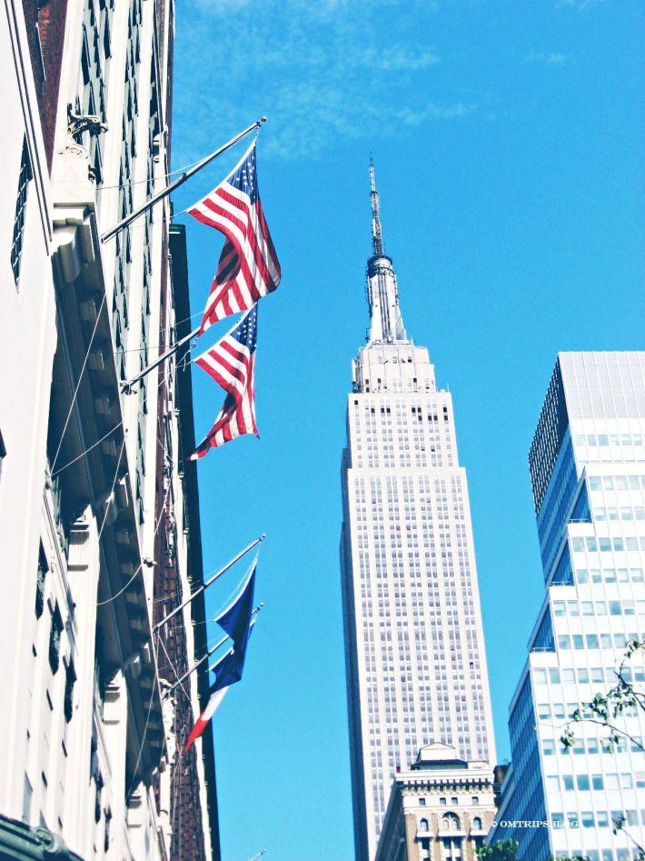 Empire State Building, New York, www.omtripsblog.com