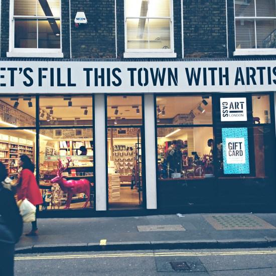 CassArt, London @omtripsblog