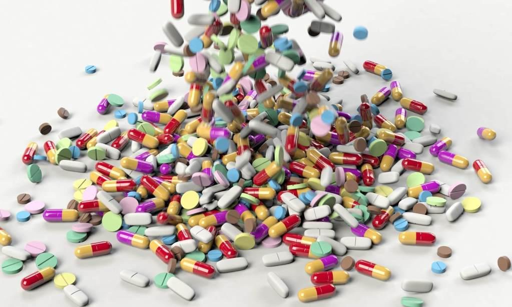 Pills, a lot of pills