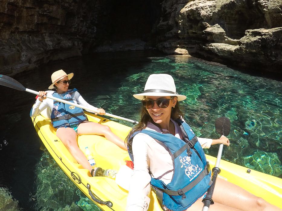 Passeio de caiaque em Dubrovnik