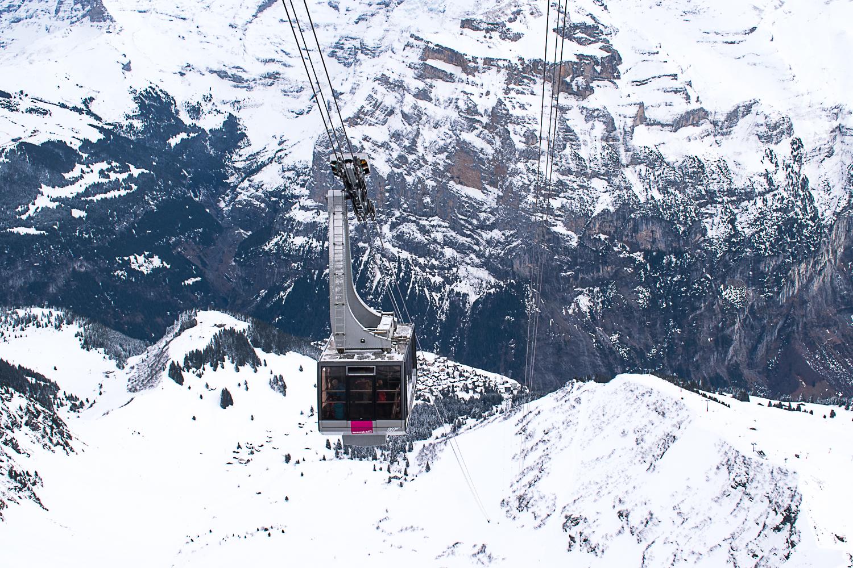 Schilthorn Piz Gloria, a montanha do 007 em Mürren
