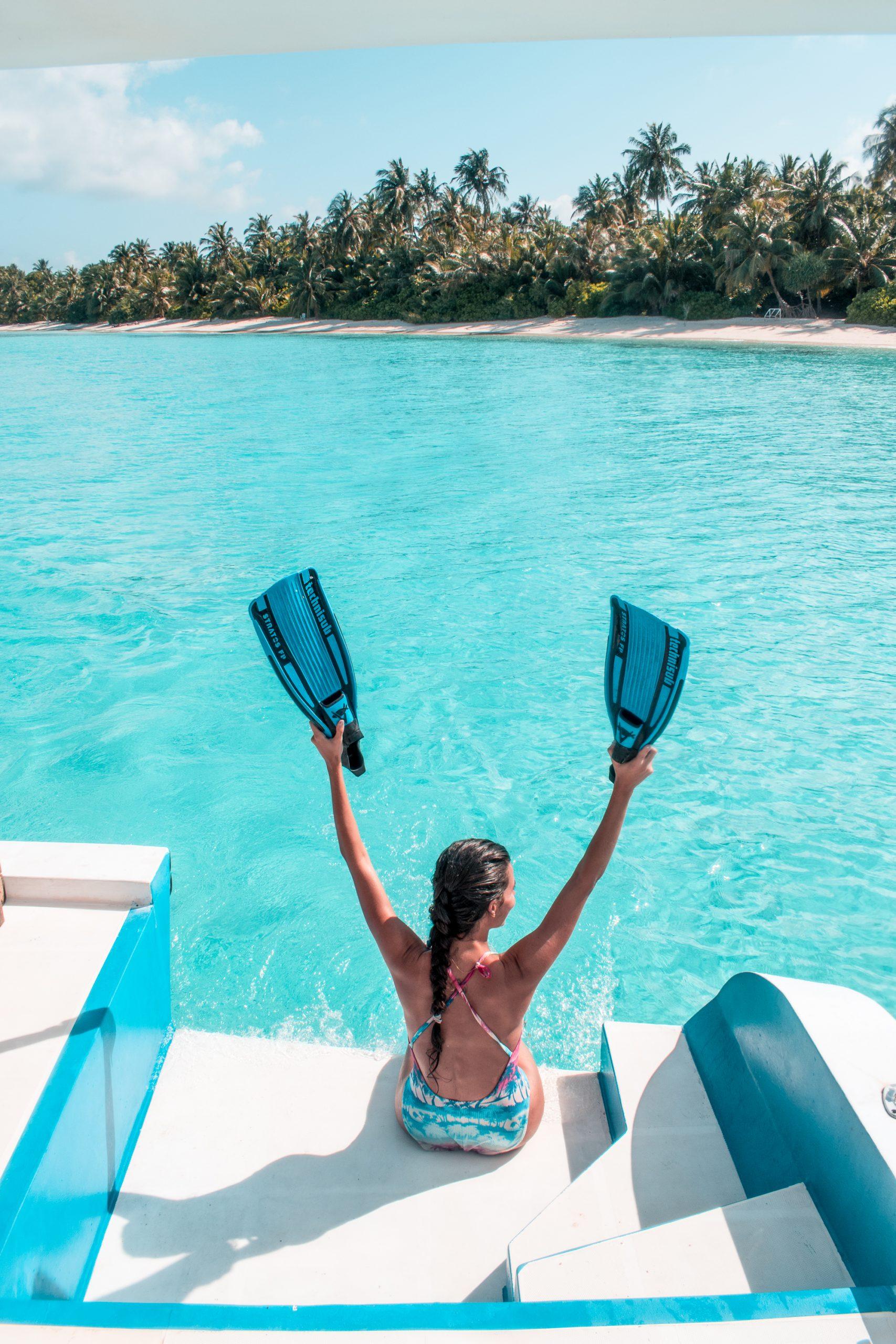 Roteiro nas Maldivas