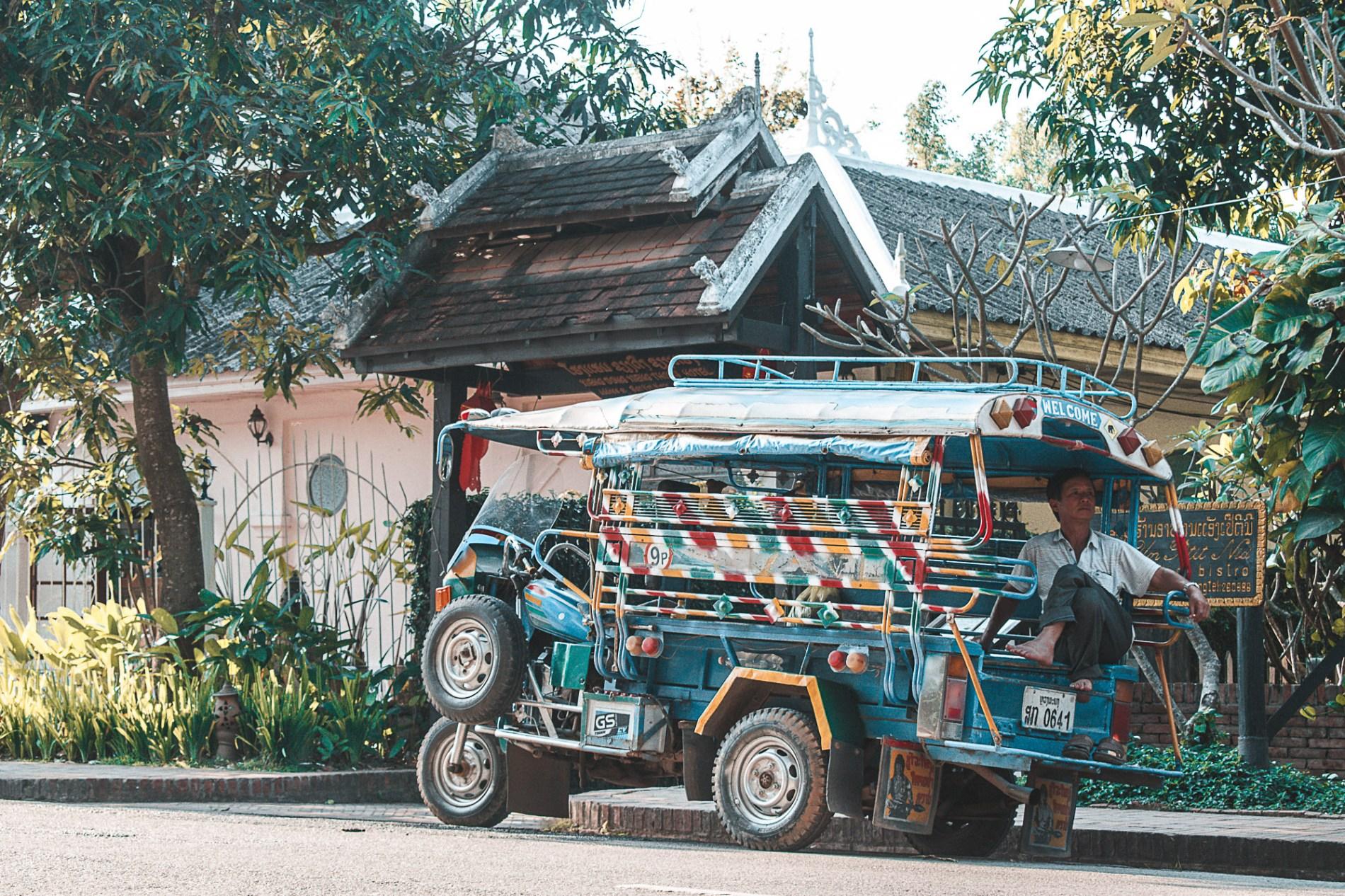 Como se locomover em Luang Prabang