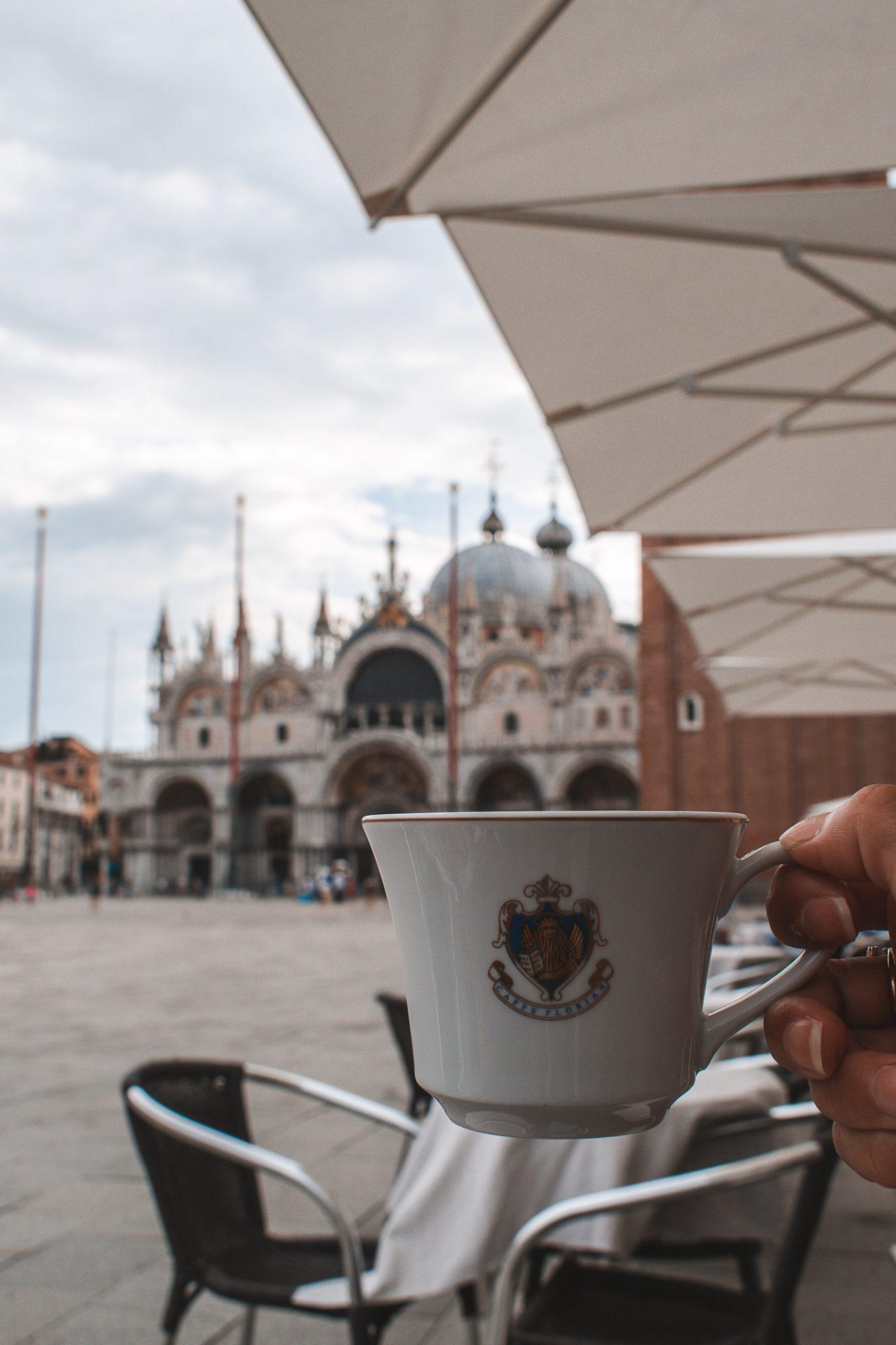Alimentação barata em Veneza