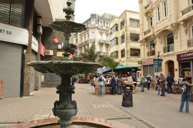 Passeio do centro de Montevidéu
