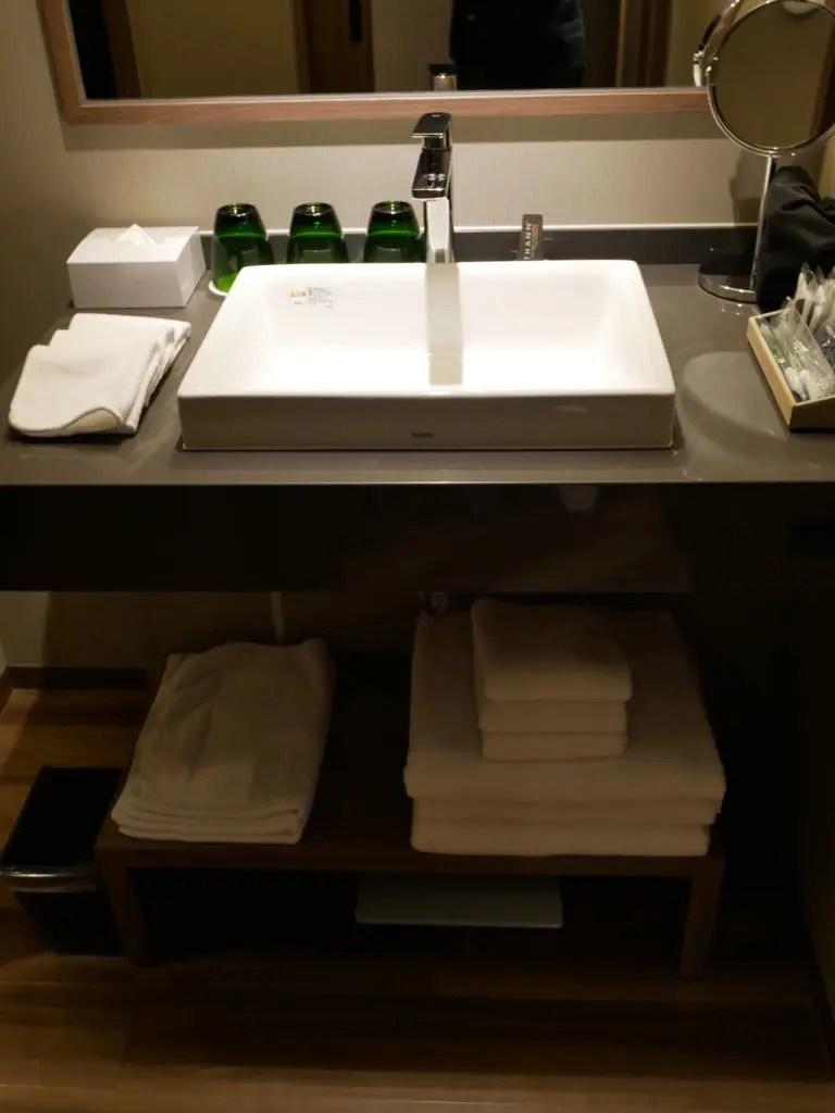伊豆マリオットホテル修善寺 洗面台