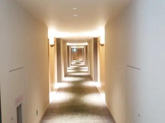 富士マリオットホテル山中湖 廊下