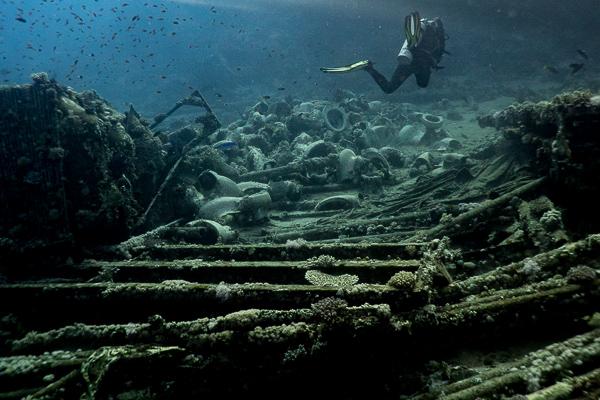 Kloschüsseln am Yolanda Reef in Ägypten