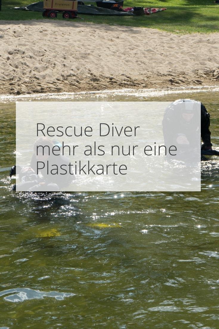 Ausbildung zum Padi Rescue Diver