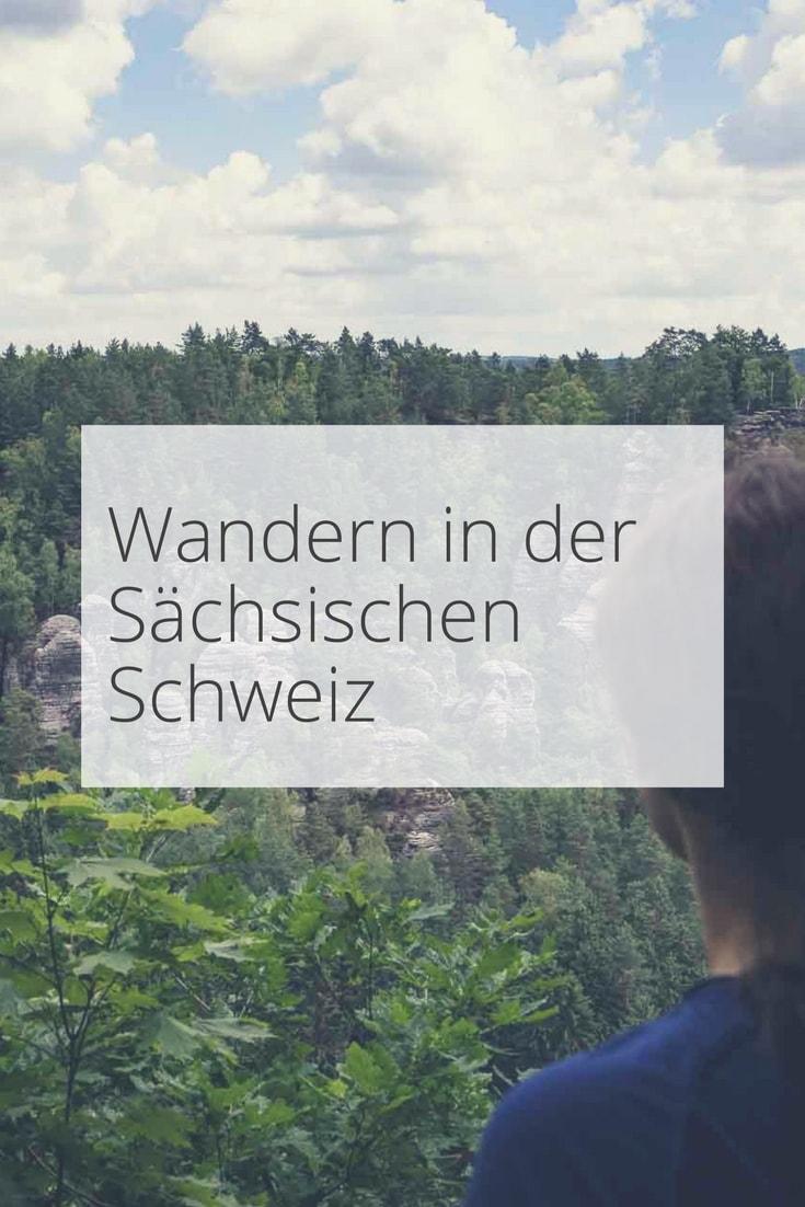 Wandern in der Saechsischen Schweiz