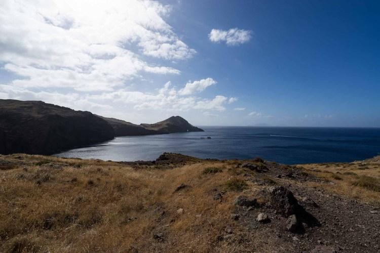 Blick auf die östlichste Spitze Madeiras Ponta de Sao Lorenco