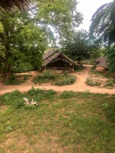 Zeltcamp im Nationalpark Tsavo East
