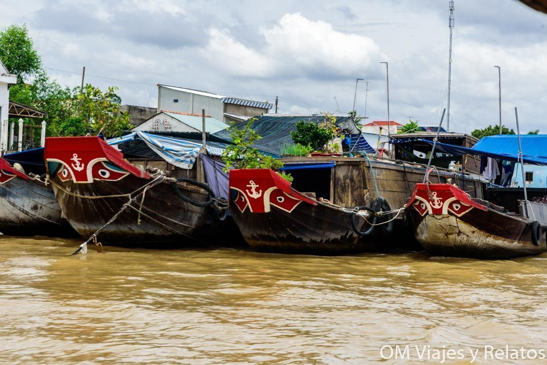 El Delta del Mekong en Vietnam