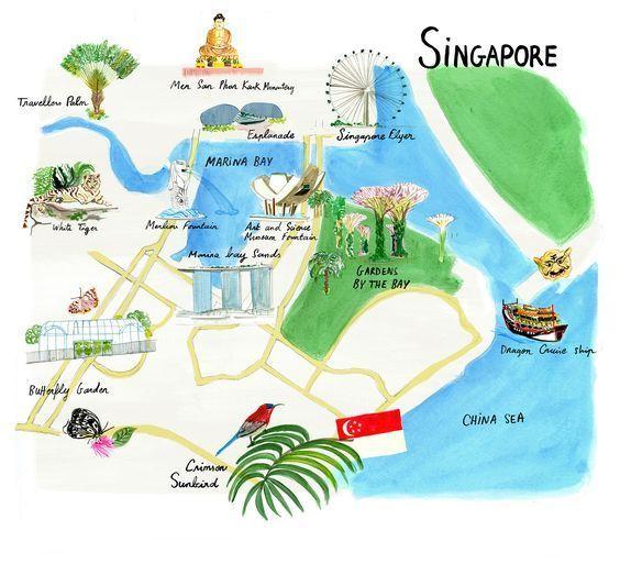 mapa-Singapur