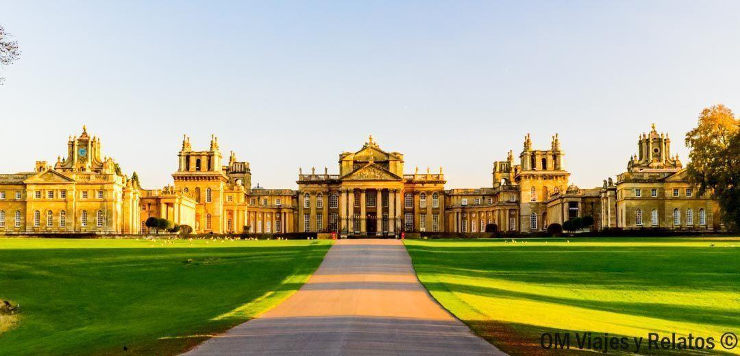 viajes-a-Inglaterra-El Palacio de Blenheim