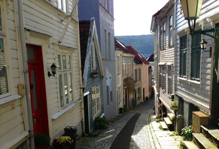 Image result for bergen old town