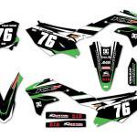 Kawasaki Alert Black Kit Omxgraphics