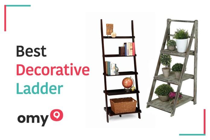10 Best Decorative Ladder