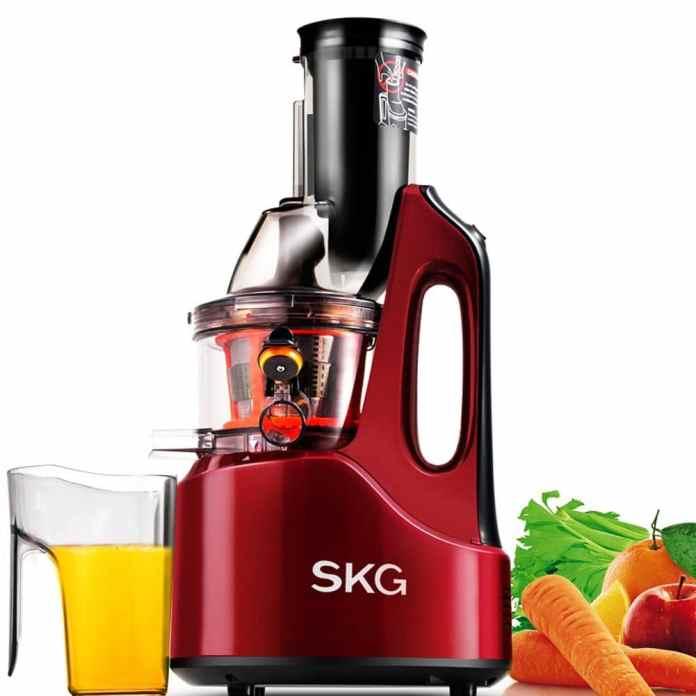SKG Wide Chute Anti-Oxidation Slow Masticating Juicer